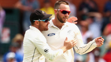 Mark Craig removed Steven Smith and Peter Siddle in the same over