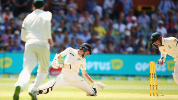 Mitchell Santner was stumped for 45