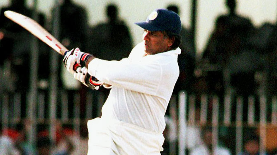 Arjuna Ranatunga made 28 not out in his final Test innings