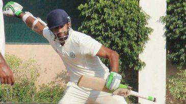 Faiz Fazal celebrates his 10th first-class hundred