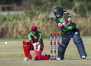 Isobel Joyce targets the off side, Ireland v Zimbabwe, ICC Women's World Twenty20 Qualifier, Bangkok, December 1, 2015