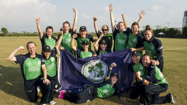 Ireland won all four matches they played to move into the Women's World T20
