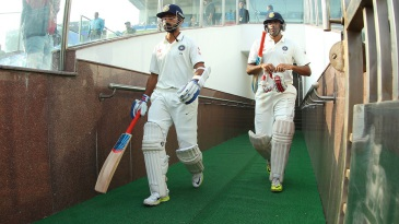 Ajinkya Rahane and R Ashwin added 98 together