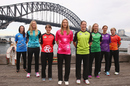The eight captains at the season launch of the Women's Big Bash League, Sydney, July 10, 2015