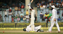 Dane Vilas valiantly dives for a catch, India v South Africa, 4th Test, Delhi, 3rd day, December 5, 2015