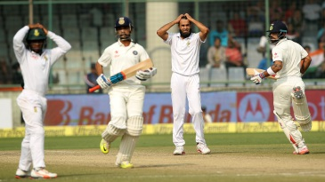 Running away with it: Virat Kohli and Ajinkya Rahane stabilised the innings