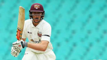 Matt Renshaw pushes to the off side