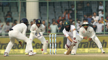 Hashim Amla blocks
