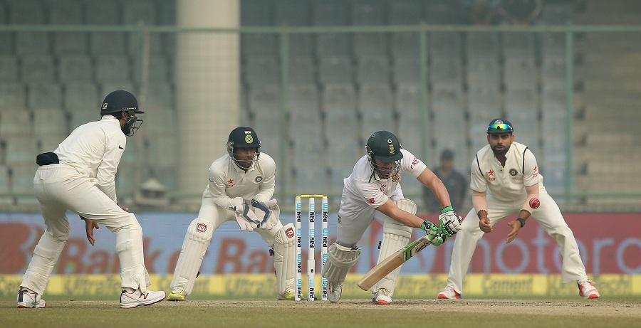 Delhi, 2015: South Africa's decision to dead-bat everything made sense given the value of runs was zero in the context