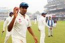 R Ashwin acknowledges his five-for, India v South Africa, 4th Test, Delhi, 5th day, December 7, 2015