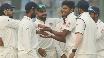 Umesh Yadav got appreciable reverse-swing