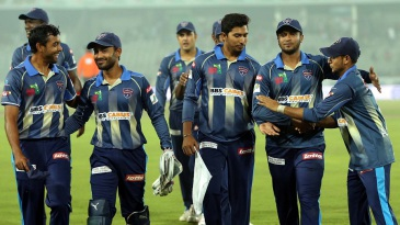 Rangpur Riders walk off a happy lot after dismissing Sylhet for 59