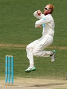 Jason Floros runs in to bowl, South Australia v Queensland, Sheffield Shield, 4th day, Adelaide, November 3, 2014