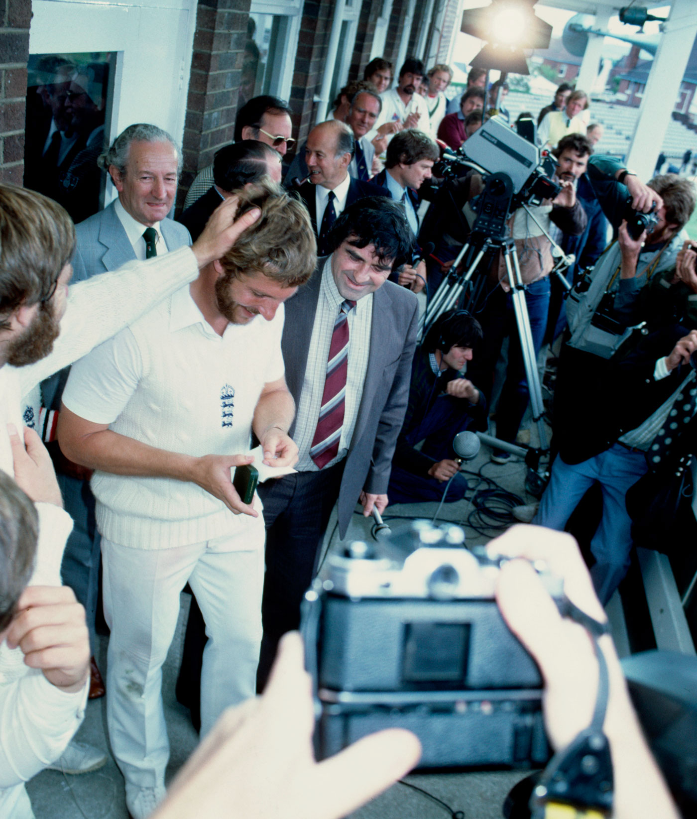 Ian Botham: for best results, taunt and sit back