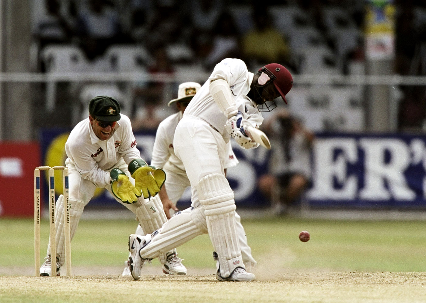 Eat my dust: Lara lays into Australia at Kensington Oval