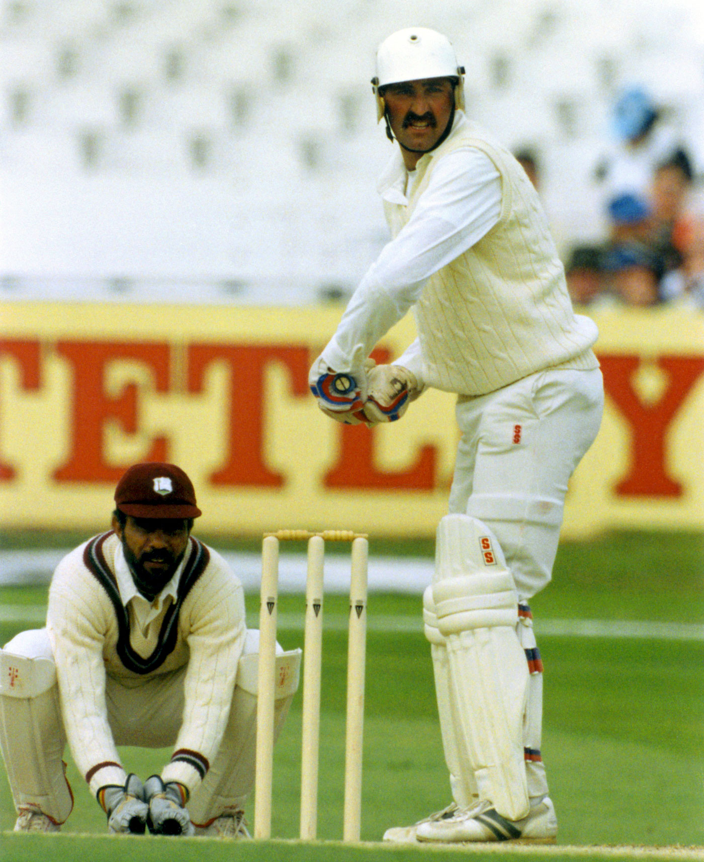 Graham Gooch stood tall against West Indies' fierce pace at Headingley in 1991
