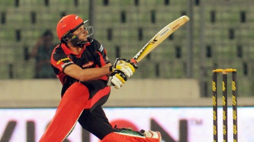 Shahid Afridi struck a six to win the game