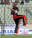 Junaid Siqqidue struck a brisk half-century, Sylhet Superstars v Dhaka Dynamites, BPL 2015-16, Mirpur, December 9, 2015