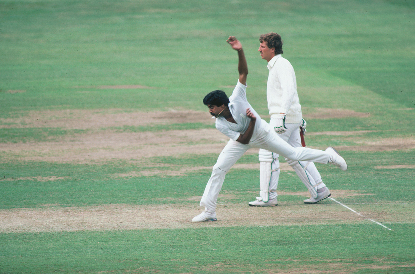 Kapil Dev: went down swinging