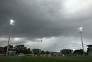 Dark clouds gather over the Bellerive Oval, Australia v West Indies, 1st Test, Hobart, 2nd day, December 11, 2015