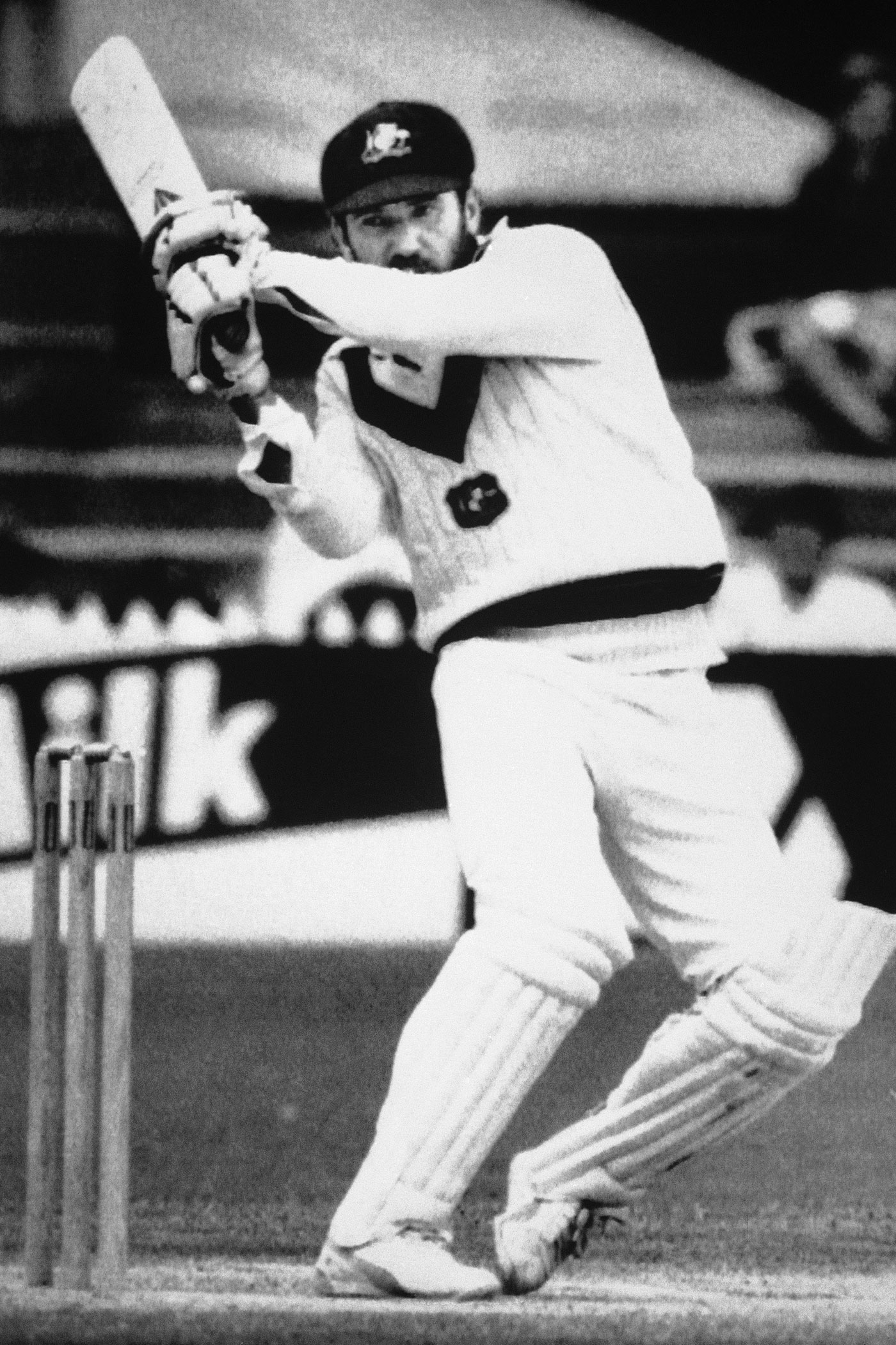 You shall not pass: in Port-of-Spain, Allan Border dug in on a difficult pitch to save the Test