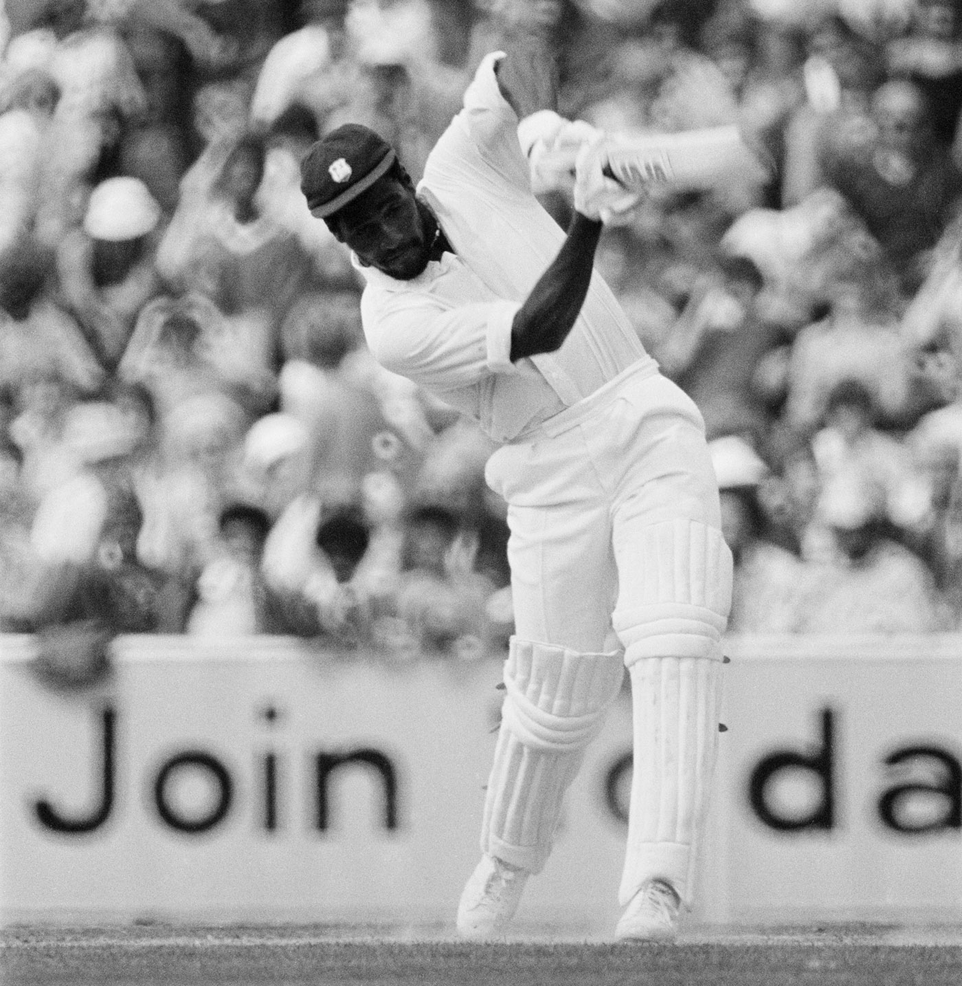 Double times two: Viv Richards made two scores of 200-plus in the Test series