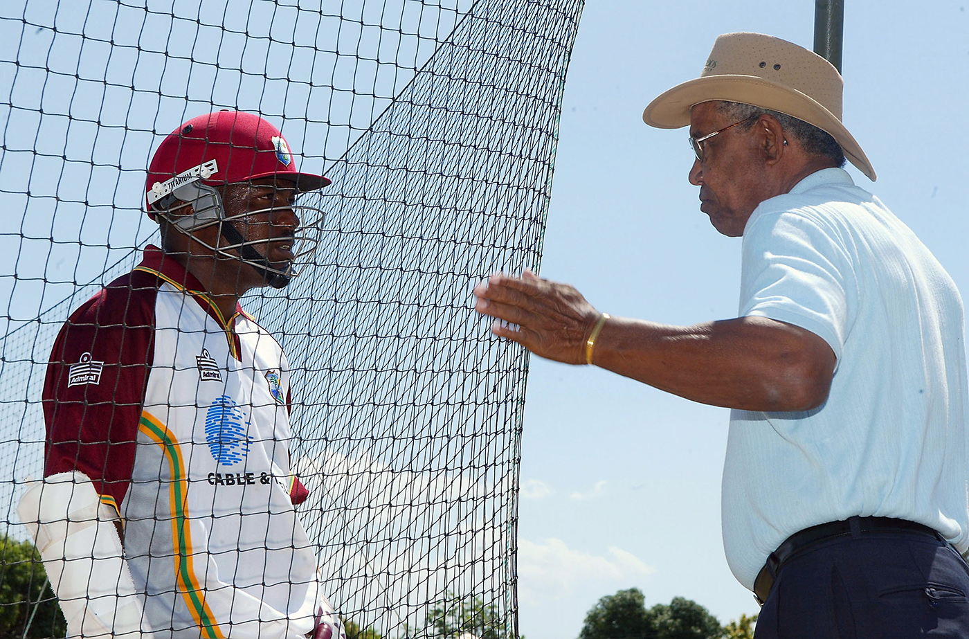 Brian Lara talks to Garry Sobers