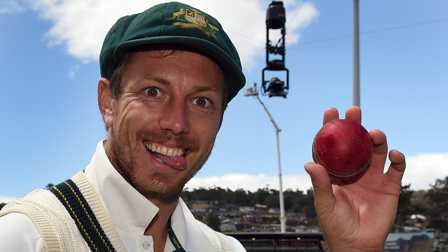 James Pattinson took five wickets in eight overs in the second innings