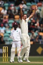 Josh Hazlewood finished with seven wickets in the match, Australia v West Indies, 1st Test, Hobart, 3rd day, December 12, 2015