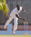 Gavin Tonge picked up the first four wickets to fall, Barbados v Leeward Islands, 1st day, WICB Regional 4 Day Tournament, Barbados, December 11, 2015