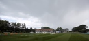 Rain forced a slightly early lunch at University Oval, New Zealand v Sri Lanka, 1st Test, Dunedin, 4th day, December 13, 2015
