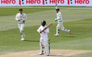 Udara Jayasundera was caught behind for 3, New Zealand v Sri Lanka, 1st Test, Dunedin, 4th day, December 13, 2015