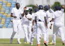 Sulieman Benn took four wickets in the second innings, Barbados v Leeward Islands, WICB Professional Cricket League Regional 4 Day Tournament, Bridgetown, 3rd day, December 13, 2015