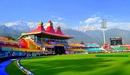 A snapshot of Himachal Pradesh Cricket Association stadium, Dharamsala, December 15, 2015
