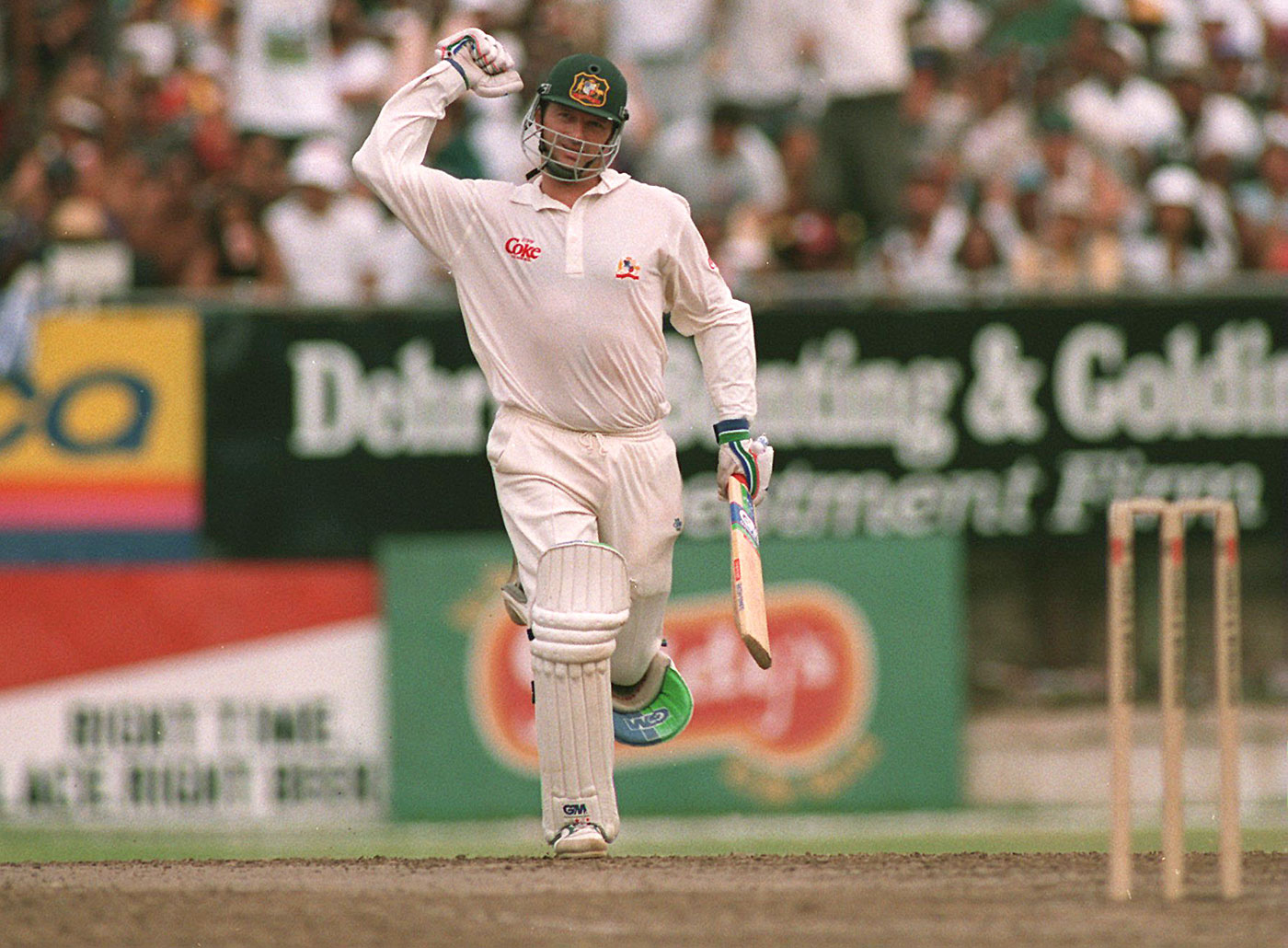 Steve Waugh: took a licking, kept on ticking