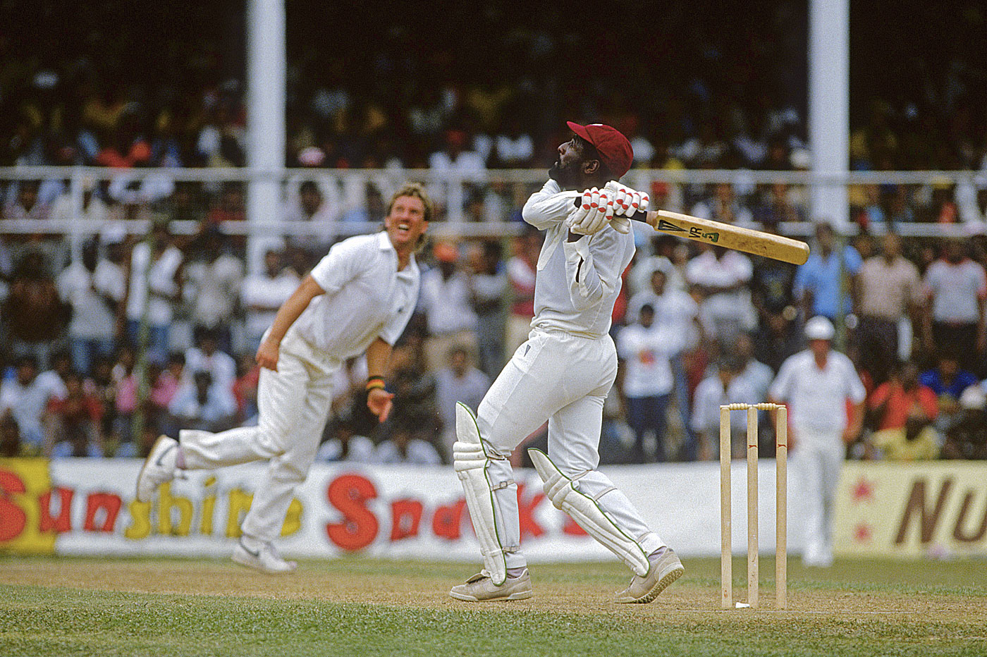 All's fair in friendship and cricket: Richards thrashed everyone, including best mate Beefy
