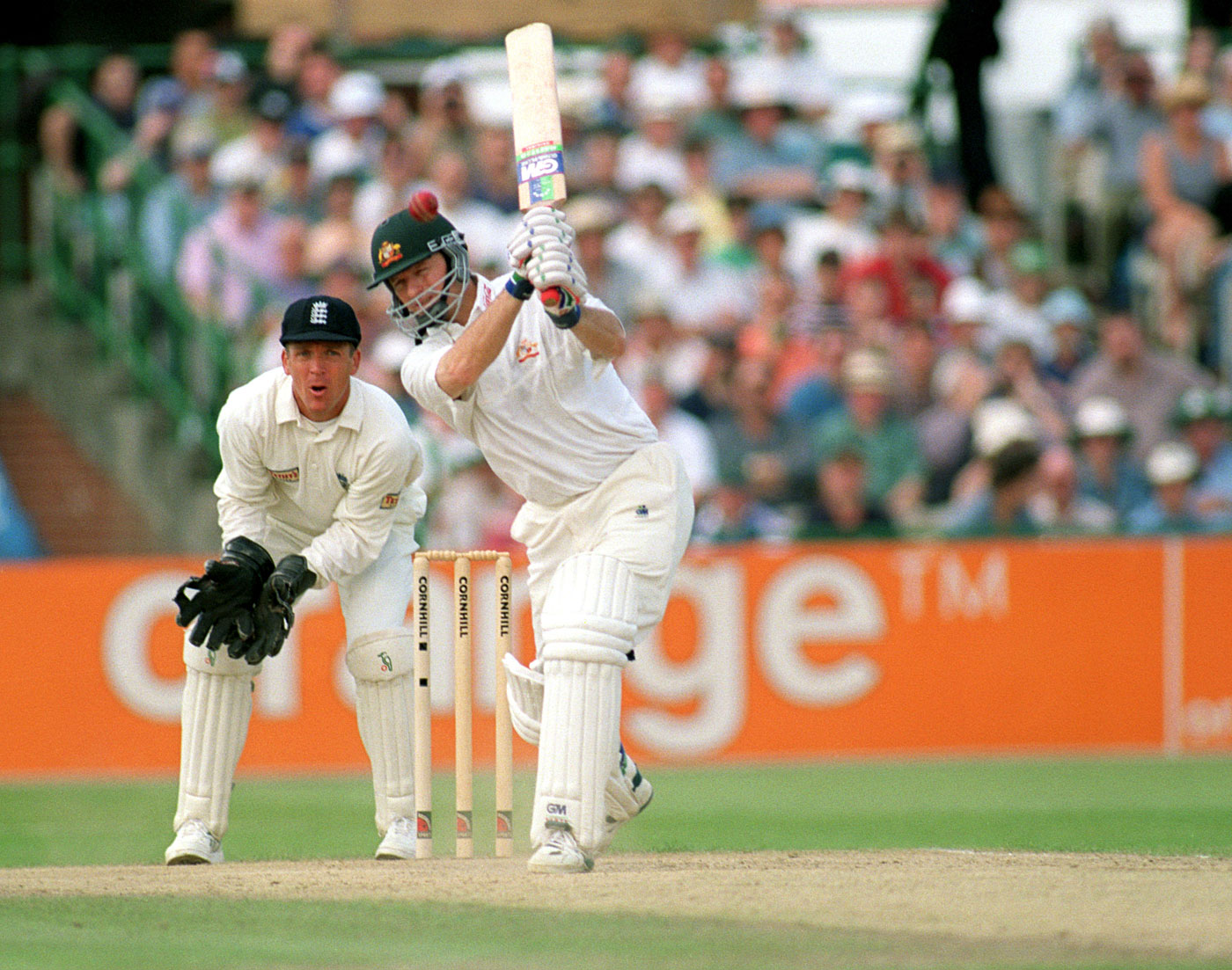 Tugga double-bill: Old Trafford was another of Waugh's back-to-the-wall classics