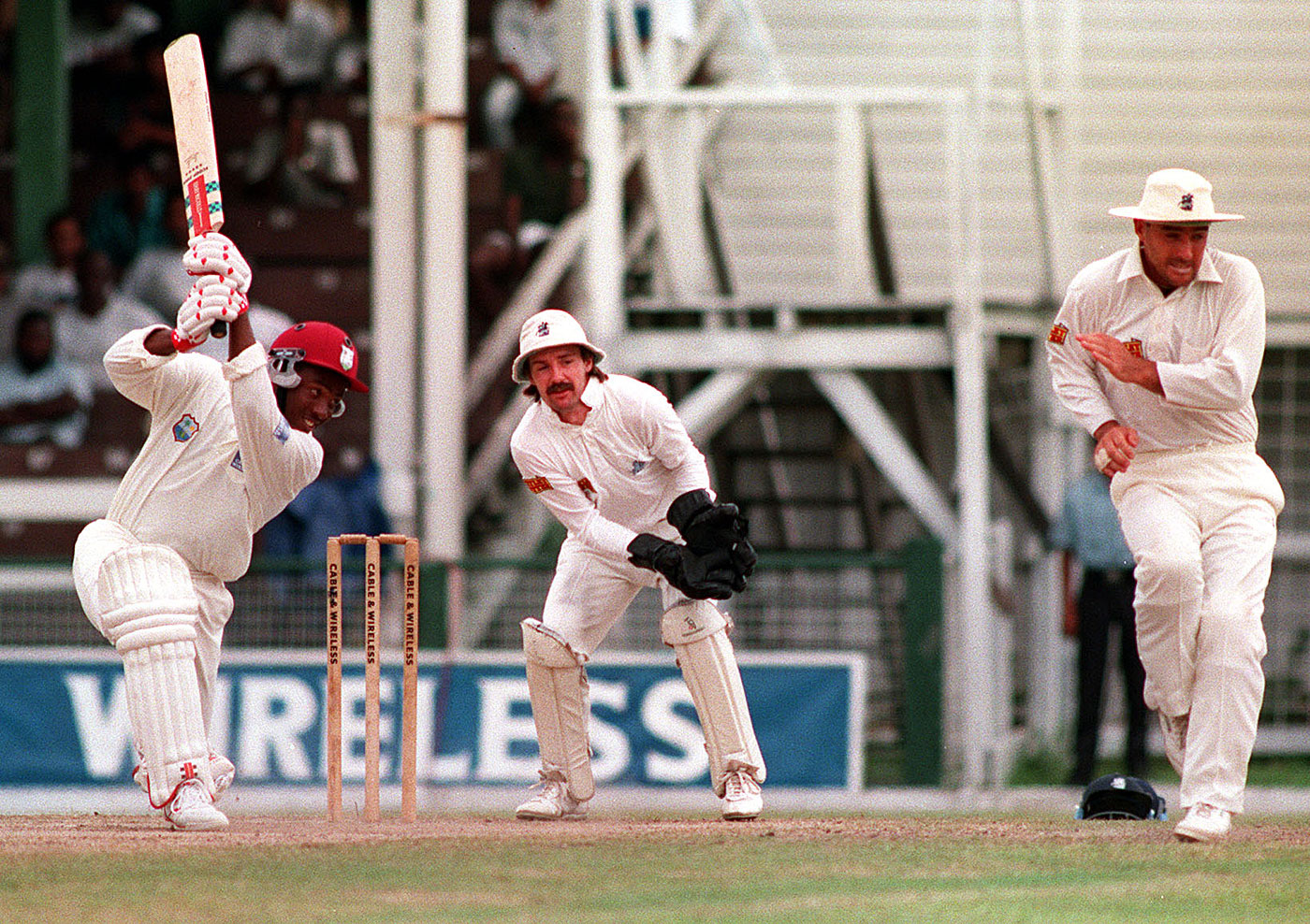One of the England bowlers feared the world record was coming when Lara began to go ballistic. He was right