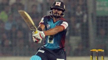 Shahriar Nafees struck a brisk unbeaten 44