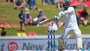 Angelo Mathews cuts through the off side