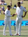 Brendon McCullum and Tim Southee plot away, New Zealand v Sri Lanka, 2nd Test, Hamilton, 2nd day, December 19, 2015