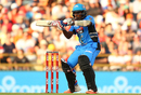 Mahela Jayawardene's 40-ball 42 steered the Strikers' chase, Perth Scorchers v Adelaide Strikers, Big Bash League 2015-16, Perth, December 21, 2015