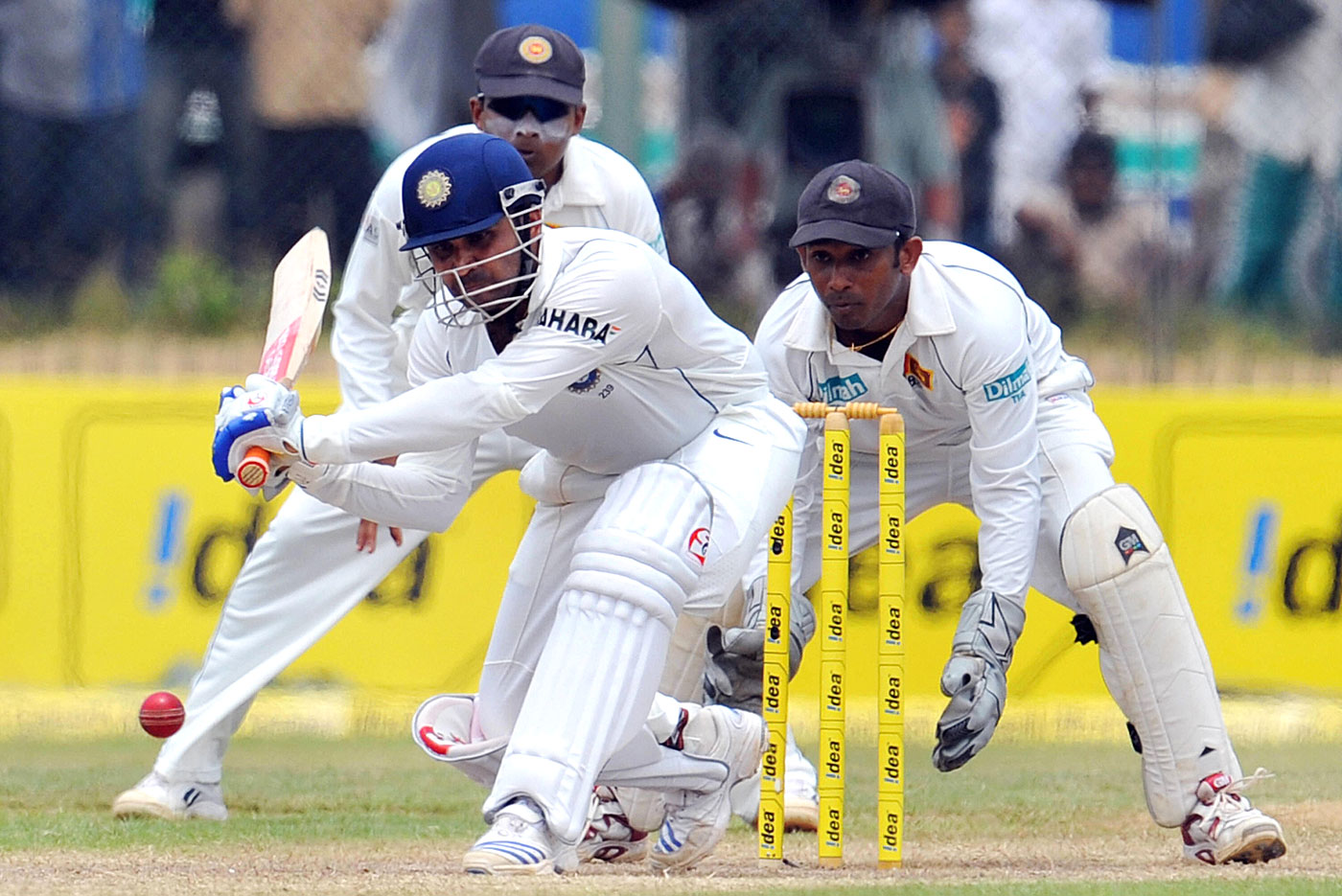 Virender Sehwag in Galle, 2008: the best match batting figures
