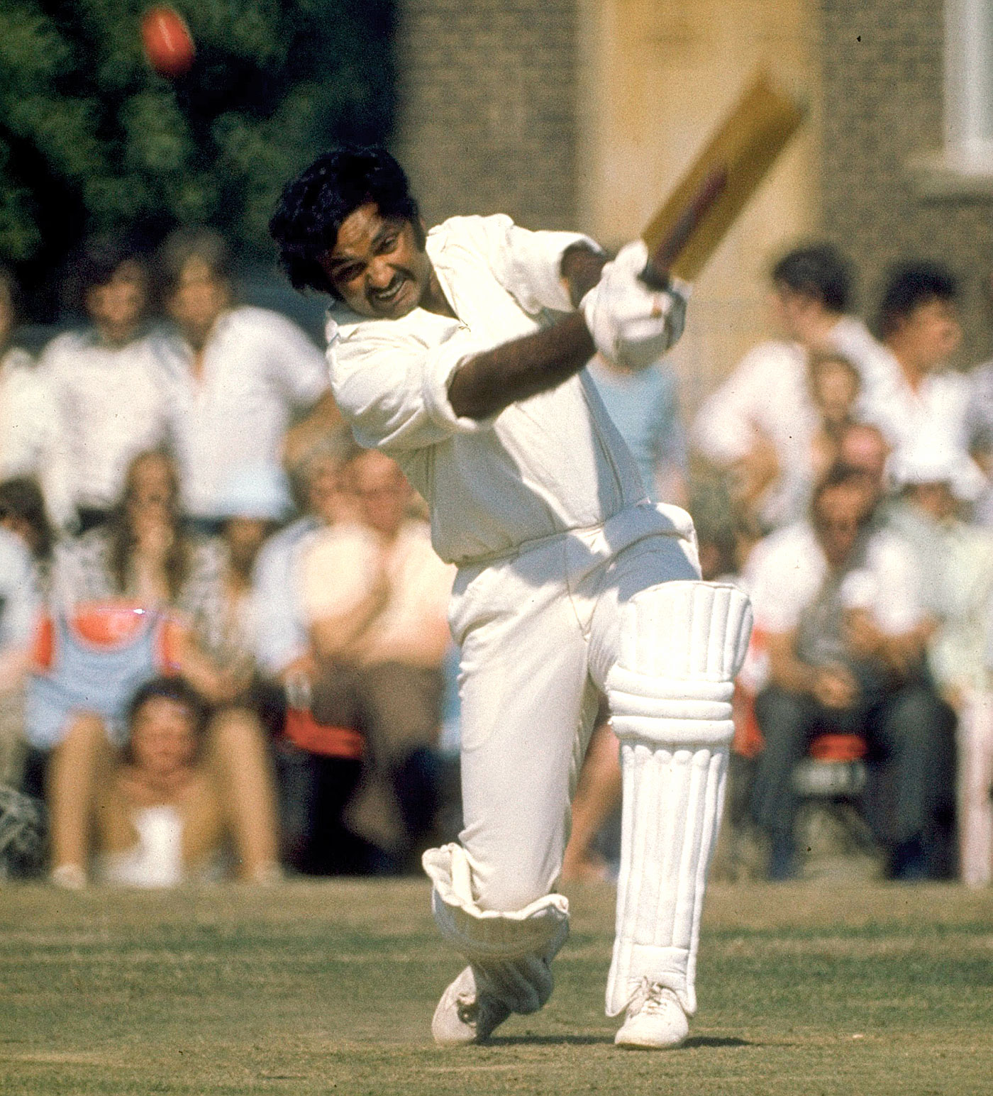 King of Spain: Mushtaq Mohammad made 121 and 56 and took 8 for 97 against West Indies in Trinidad in 1977