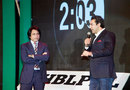Wasim Akram and Ramiz Raja speak at the PSL draft, PSL draft, Lahore, December 22, 2015