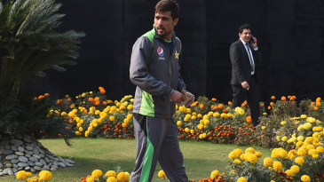 Mohammad Amir arrives at the PSL draft