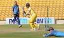 B Indrajith tucks the ball fine, Tamil Nadu v Uttar Pradesh, Vijay Hazare Trophy, 3rd quarter-final, Bangalore, December 24, 2015