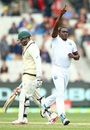 Jerome Taylor had Usman Khawaja caught behind for 144, Australia v West Indies, 2nd Test, 1st day, Melbourne, December 26, 2015