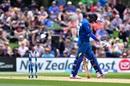 Sachithra Senanayake begins to walk back after being dismissed for a duck, New Zealand v Sri Lanka, 2nd ODI, Christchurch, December 28, 2015