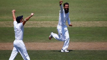 Moeen Ali struck twice in consecutive overs